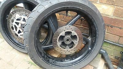 Aprilia Rs125 1999 To 2005 Rear Wheel Tyre And Disc Also Selling Rs125 Bike