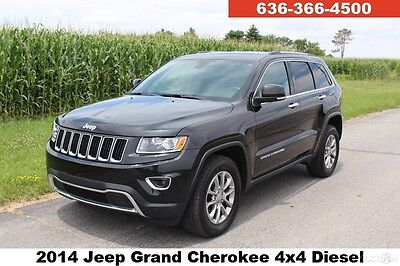 2014 Jeep Grand Cherokee Limited 2014 Limited Used Turbo 3L V6 24V Automatic 4WD SUV