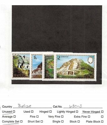 Lot of 21 Belize MNH Mint Never Hinged Stamps #106379 X*