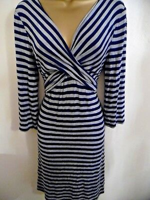 Blooming Marvellous Jersey Striped Maternity Dress - Size 14 - Lovely..