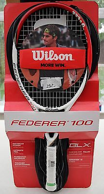 Wilson Federer 100 Tennis Racket  - Rrp: £120 -  99P Starting Price