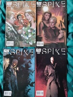 Spike complete series issues 1-8 Buffy the Vampire Slayer Angel IDW