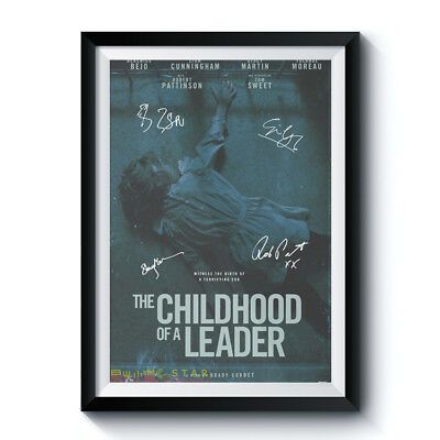 Movie Autograph Poster Reprint THE CHILDHOOD OF A LEADER Casts Home Wall Deco