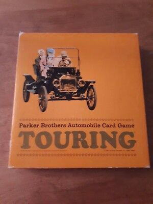 Parker Brothers Touring Automobile Card Game 1965  # 732