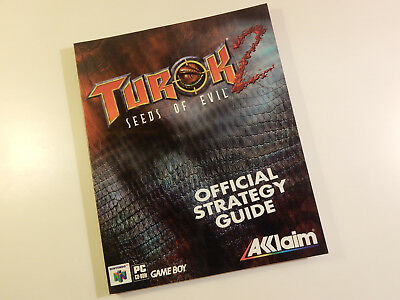 "Original Nintendo 64 Spieleberater ""Turok 2 Seeds of Evil"""