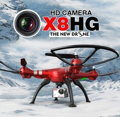 DRONE SYMA X8HG XXL BLOCCO ALTEZZA HEADLESS CAMERA FULL HD FOTO 8MPX come GOPRO