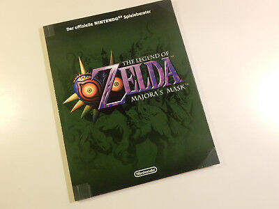 "Original Nintendo 64 Spieleberater ""The Legend of Zelda Majora's Mask"""