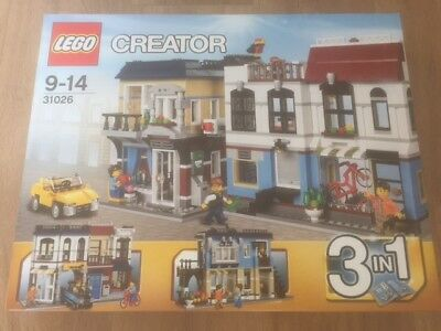 Lego Creator 31026 Bike Shop & Cafe Brand New & Sealed (Discontinued)