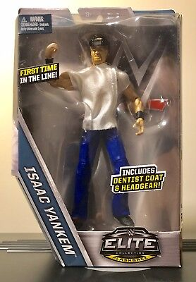 Wwe Isaac Yankem Elite Action Figure Tru Toysrus U.s Exclusive