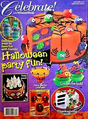 Celebrate With Woman's World  Halloween Party Fun Autumn 2017 New