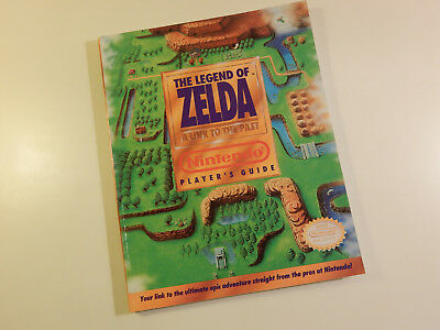 "Original Nintendo SNES Spieleberater ""The Legend of Zelda A Link To The Past"""
