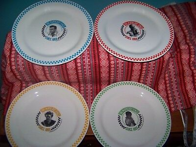 """The Andy Griffith Show: Mayberry Diner 10.5"""" Dinner Plates- Set of 4"""