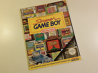 "Original Nintendo SNES Spieleberater ""Super Game Boy"""
