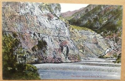 Vintage postcard: The Chair, Skippers Road, New Zealand