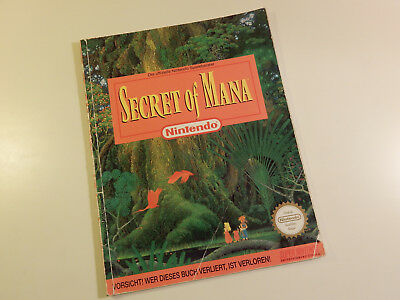 "Original Nintendo SNES Spieleberater ""Secret of Mana"""