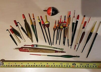Vintage fishing floats - including Harcork