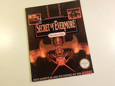 "Original Nintendo SNES Spieleberater ""Secret of Evermore"""