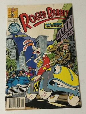 Vintage Comic Book, Roger Rabbit Movie, Disney's First Comic Issue 1990, Inv0936