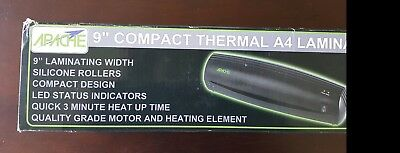 "Apache 9"" AL9 A4 Class Document Photo Thermal Laminator, Quick 3 min Warm-up"
