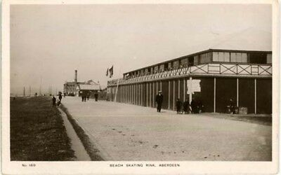 "Aberdeen - ""beach Skating Rink, Aberdeen"" Real Photo  Posted Pre 1918."