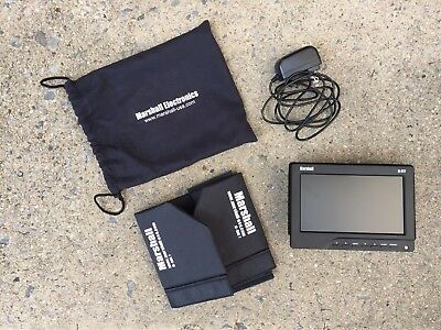 "Marshall M-CT7 7"" LCD camera top or field HDMI monitor w/ hood, power supply"