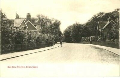 """Middlesex Stanmore - """"gordon Avenue"""" - Chester Vaughan Postcard 1904."""