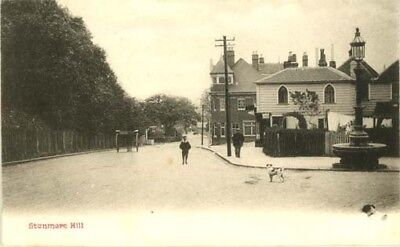 """Middlesex Stanmore - """"stanmore Hill"""" + Horse & Cart - Chester Vaughan P/c 1904."""