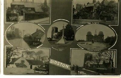 WIRRAL BIDSTON - MULTI-VIEW INCLUDING: OLD SCHOOL HOUSE, THE LILACS Etc  1924.