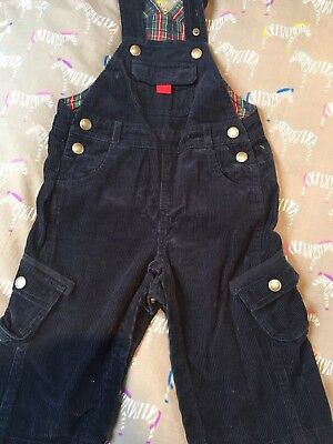 jojo maman bebe Cord Dungarees 12-18mnths - great condition
