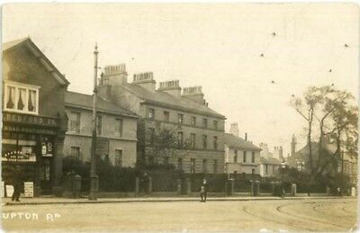 Wirral Birkenhead - Upton Road Claughton Post Office + Shops - R/p Posted1910.