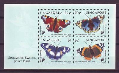 m3387/ Cz.Slania Singapore Butterfly Block MNH Issue