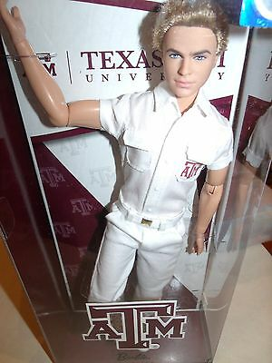 Amazing Texas Gorgeous Ken Cheerleader Doll Mint Nrfb Articulated Body
