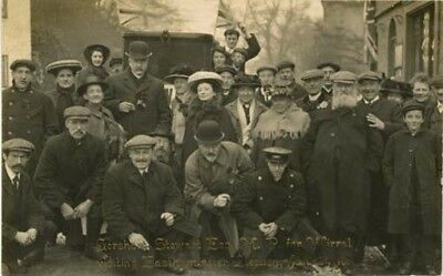 Wirral Eastham - Graham Stewart Mp At Eastham After Election - Walker R/p 1911.