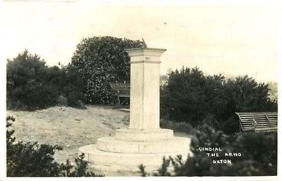 """Wirral Oxton - """"sundial The Arno Oxton"""" Real Photo Posted 1913."""