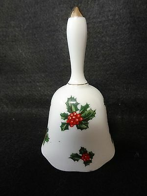 LEFTON CHINA Christmas Holly BELL 07944