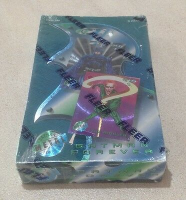 "1995 Fleer ""Batman Forever Metal"" - Factory Sealed Box - 36 Packs"