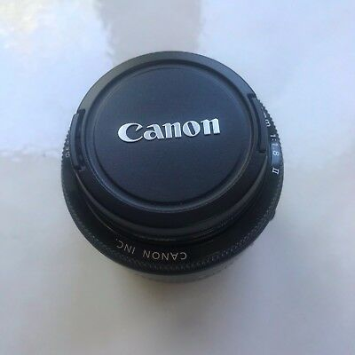 NEVER USED Canon EF 50mm f/1.8 II EF Lens