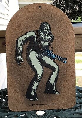 1980 Manton Cork Chewbacca Star Wars Cork Board Retro Collectible Gift Idea