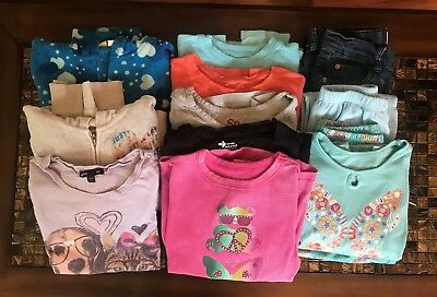 Girls Clothes Lot Size 7/8, mixed brands.