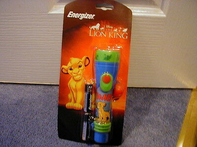 Disney Lion King Simba Torch By Energizer Brand New Rare