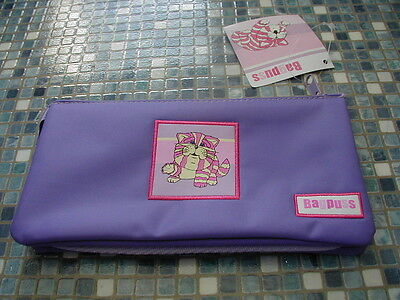 Bagpuss Lilac Pencil Case Cosmetic Bag Brand New Very Rare