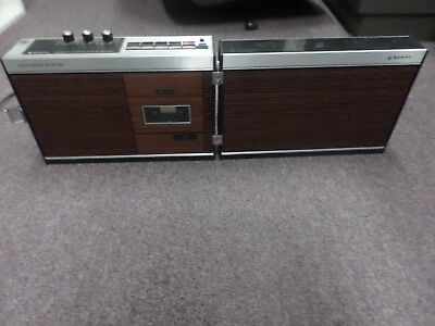 Sanyo M4000 Vintage Cassette Recorder - Working