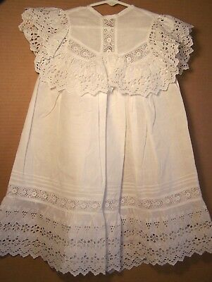 Antique little girl pinafore