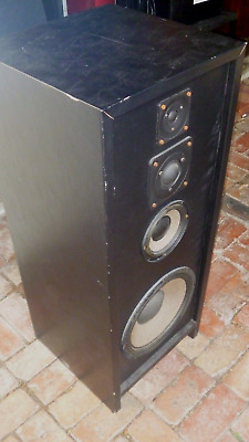 ETI 4000 Rare Vintage 4 way Speakers with Phillips Drivers