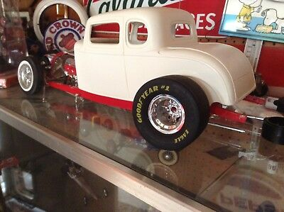 1/8 Scale Good Year Eagle # 1 Drag Slick Tires FOR REVEL 1:8 Model Car. Rims to