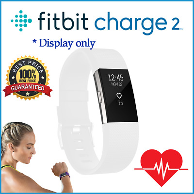 Fitbit Charge 2 Heart Rate + Fitness Wristband - Pebble Only