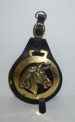 Horse Brass Ornament The Walt Disney Company Made In England - Vintage