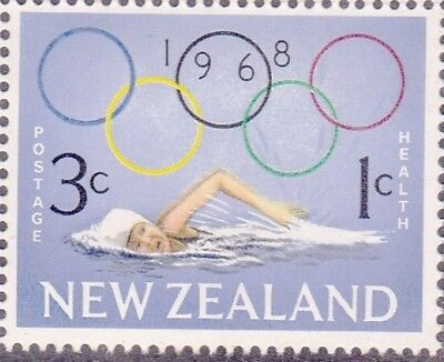 New Zealand 1968 HEALTH OLYMPICS Set (2) MNH SG 887-8 in Blocks of 4 (8 Stamps)