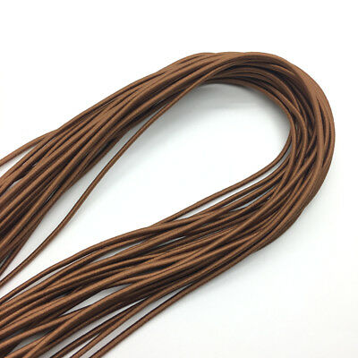 5yds Brown Trong Elastic Bungee Rope Shock Cord Tie Down DIY Jewelry Making