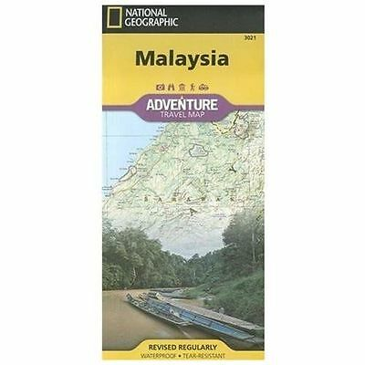 National Geographic Adventure Map: Malaysia Adventure 3021 by National...